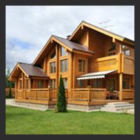 Деревянные лестницы для загородных домов